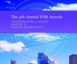 2015 FOR awards logo